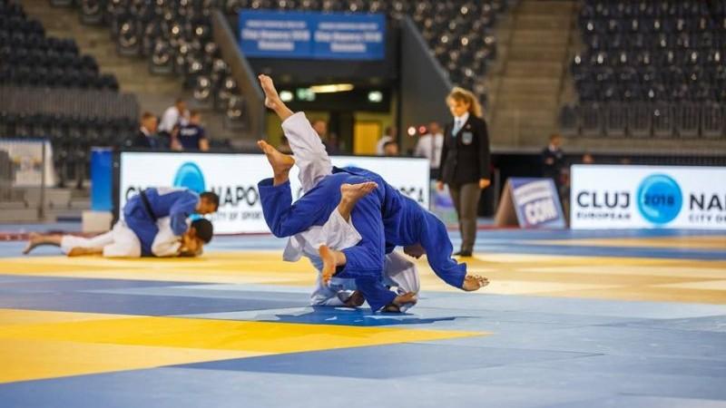 Judocanii Adil Osmanov și Cătălin Marian au urcat pe podium la Cupa Europei printre juniori