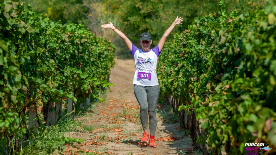 """Combină sportul și vinul. Înregistrează-te la cursa de alergare """"Purcari Wine Run"""""""