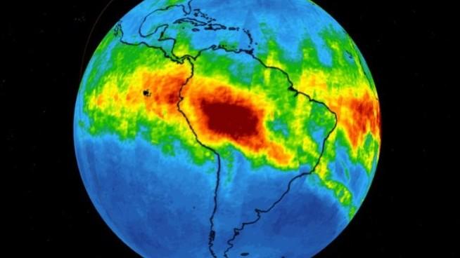 (video) Imaginile NASA arată cât de mult monoxid de carbon iese în urma incendiilor din cea mai mare pădure a planetei