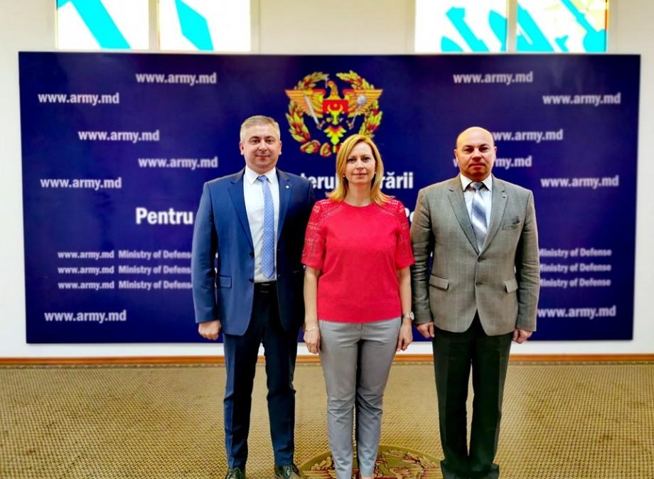 Universitatea Tehnică a Moldovei a discutat inițierea unui acord de colaborare cu Ministerului Apărării
