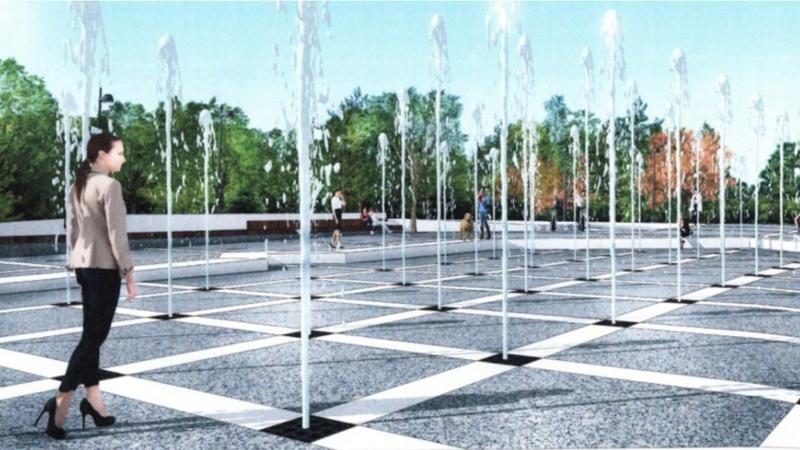 (foto) În această duminică, în Parcul Valea Trandafirilor, va fi inaugurat primul havuz muzical din Chișinău
