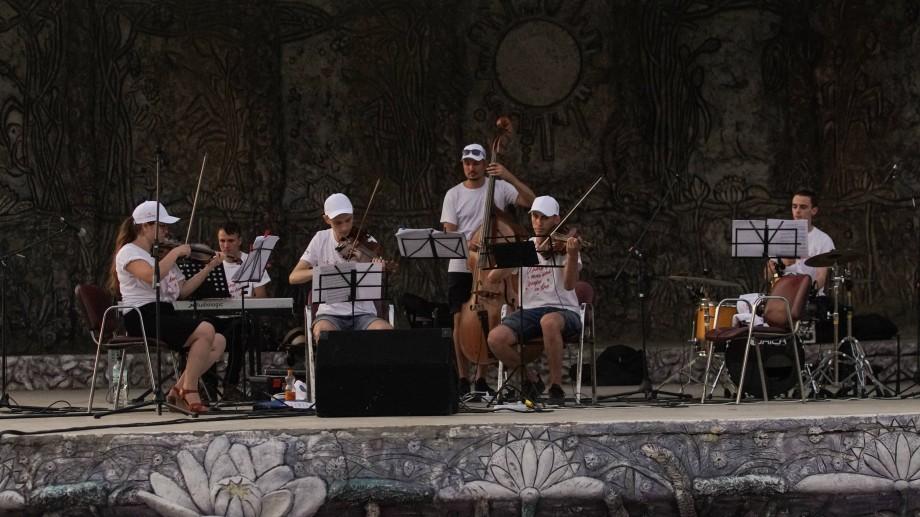 (foto) Expediția muzicală La La Play a cucerit publicul de la Cahul. Cum au evoluat tinerii la cel de-al doilea concert