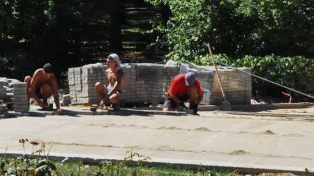 (foto) Zona pietonală în perimetrul a patru străzi din nucleul istoric al Capitalei va fi reabilitată. Cum va arăta