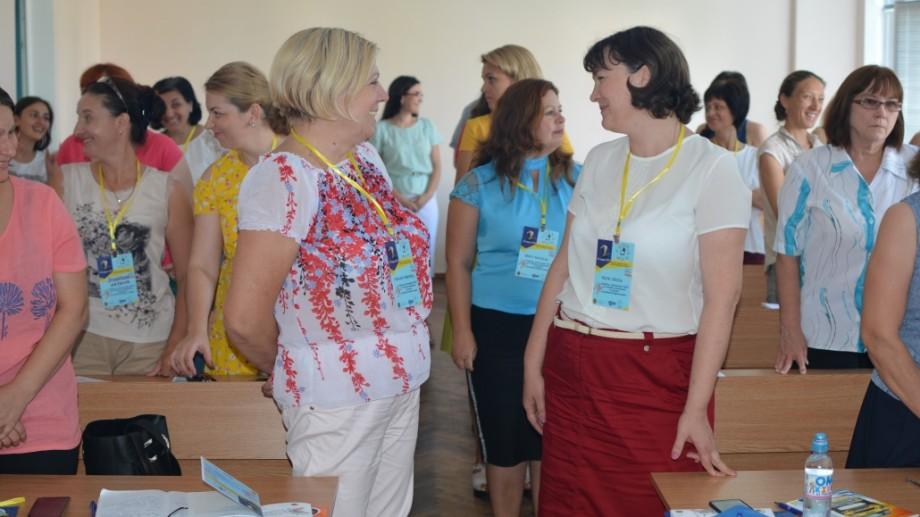 (foto) Cum s-a desfășurat forumul municipal al pedagogilor, organizat în incinta UTM