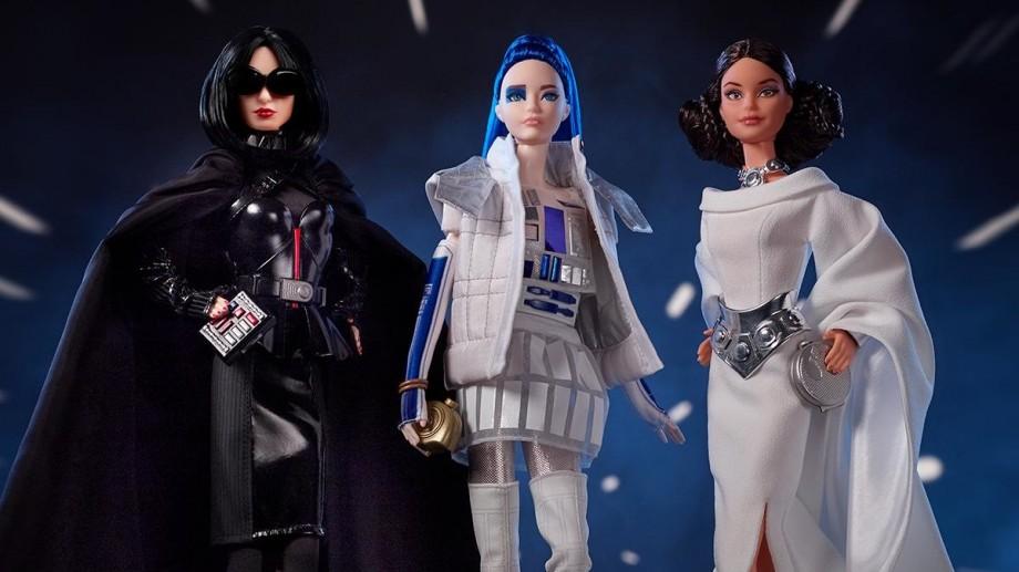 (foto) Darth Vader, prinţesa Leia, sau R2-D2. Barbie a lansat o nouă colecție inspirată din Star Wars