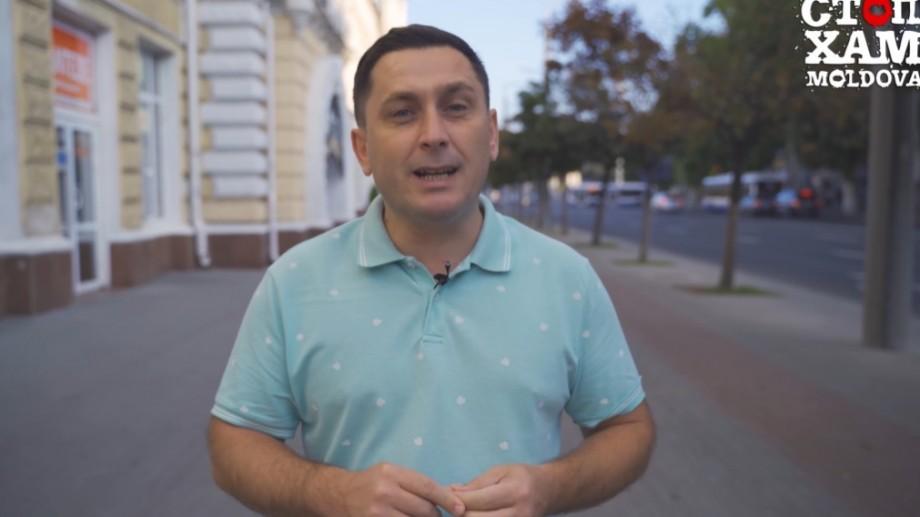 """(video) """"StopHam Moldova"""" la primărie. Unul dintre activiștii proiectului se va înscrie în cursa pentru alegerile locale"""