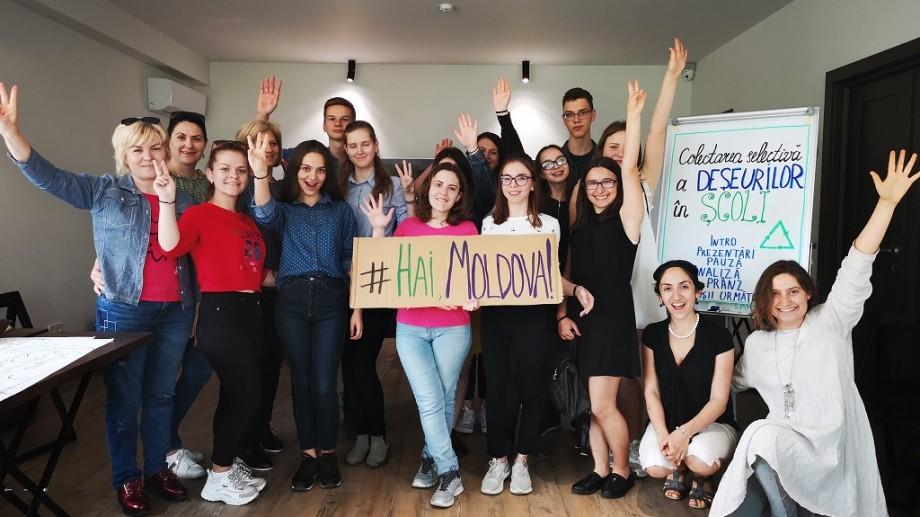 Hai Moldova dă startul unui concurs pentru toate școlile din țară. Colectează deșeurile electronice din localitatea ta și obține premii