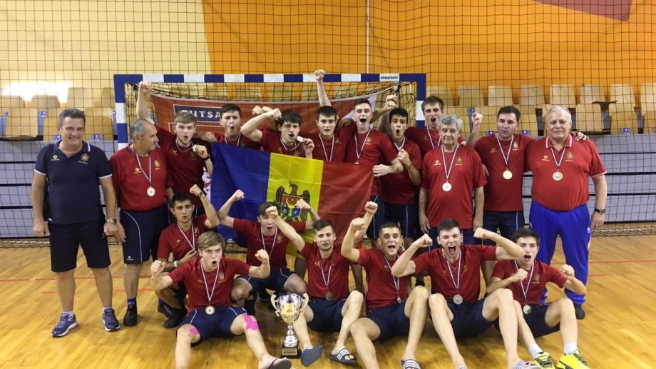 Selecţionata U-19 de futsal a Moldovei a câștigat turneul internațional găzduit de orașul Riga