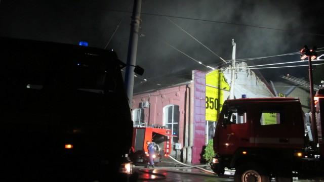 Un incendiu a izbucnit într-un hotel din Odessa în această dimineață. Opt oameni au murit