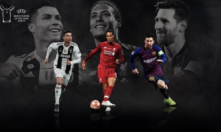 """Messi, Ronaldo şi van Dijk sunt nominalizați pentru titlul """"Cel mai bun jucător al sezonului"""""""