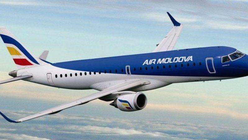 """""""Totul este ținut în secret."""" O aeronavă cu 140 de persoane era cât pe ce să se ciocnească cu un avion de mici dimensiuni, în Moldova"""