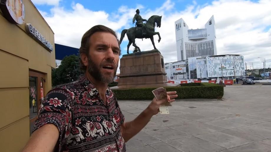 """(video) Impresiile unui vlogger din Hawaii care a vizitat Moldova: """"Un colț uitat al Europei"""""""