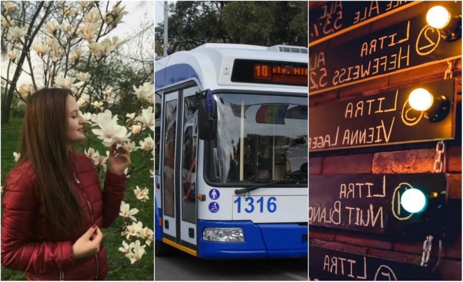 Miroase trandafirii și plimbă-te în umbra Arcului de Triumf. Lista lucrurilor pe care să le faci la Chișinău, potrivit unei aplicații mobile pentru călătorii