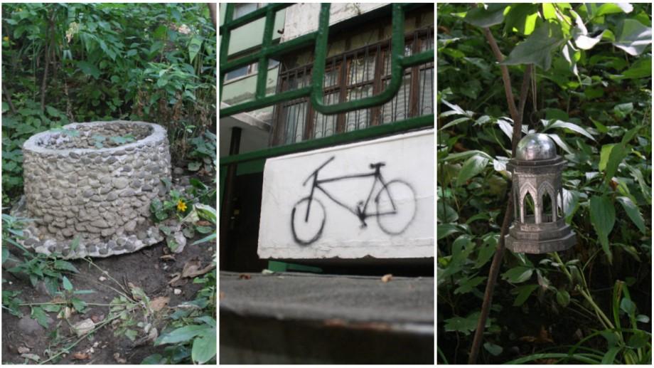(foto) Curți din Chișinău. Descoperă curtea bike-friendly localizată în sectorul Buiucani din capitală