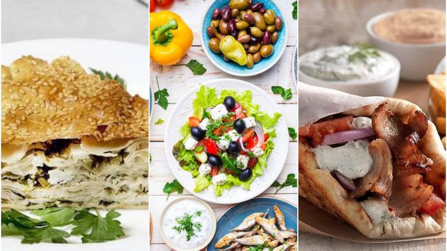 (foto) Best Of: Spanacopita, Zasiki sau Giros pita. Lista localurilor cu specific grecesc din capitală