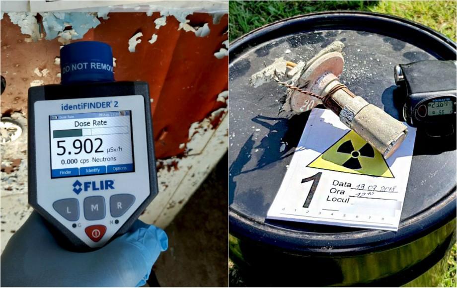 Ofițerii SIS au depistat peste 60 de surse radioactive în ultimile trei luni ale anului. Ultima intervenție a fost la Aeroportul Internaţional Chişinău
