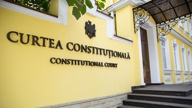 Curtea Constituțională a declarat inadmisibilă cererea Domnicăi Manole. Vladimir Țurcan rămâne în funcția de președinte al CC