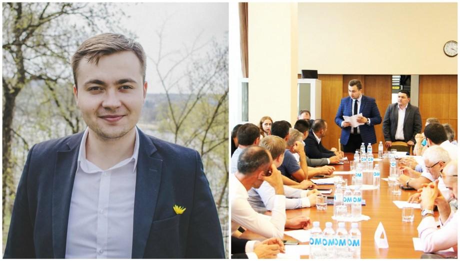 """(doc, foto) """"Să fac share la un meme pe Facebook sau nu?"""". Cum e să fii cel mai tânăr secretar de stat din Moldova"""