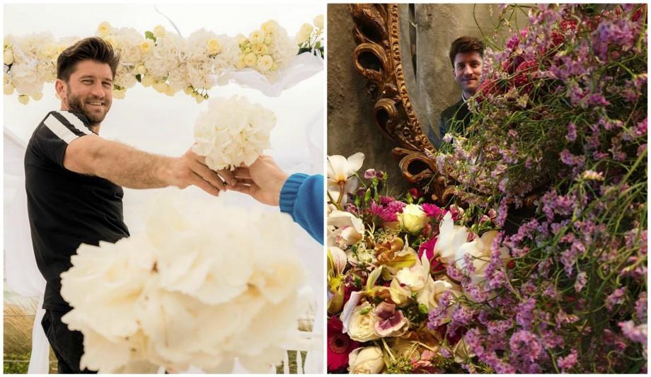 (foto) Un moldovean ne va reprezenta țara la concursul mondial de artă florală, desfășurat în China
