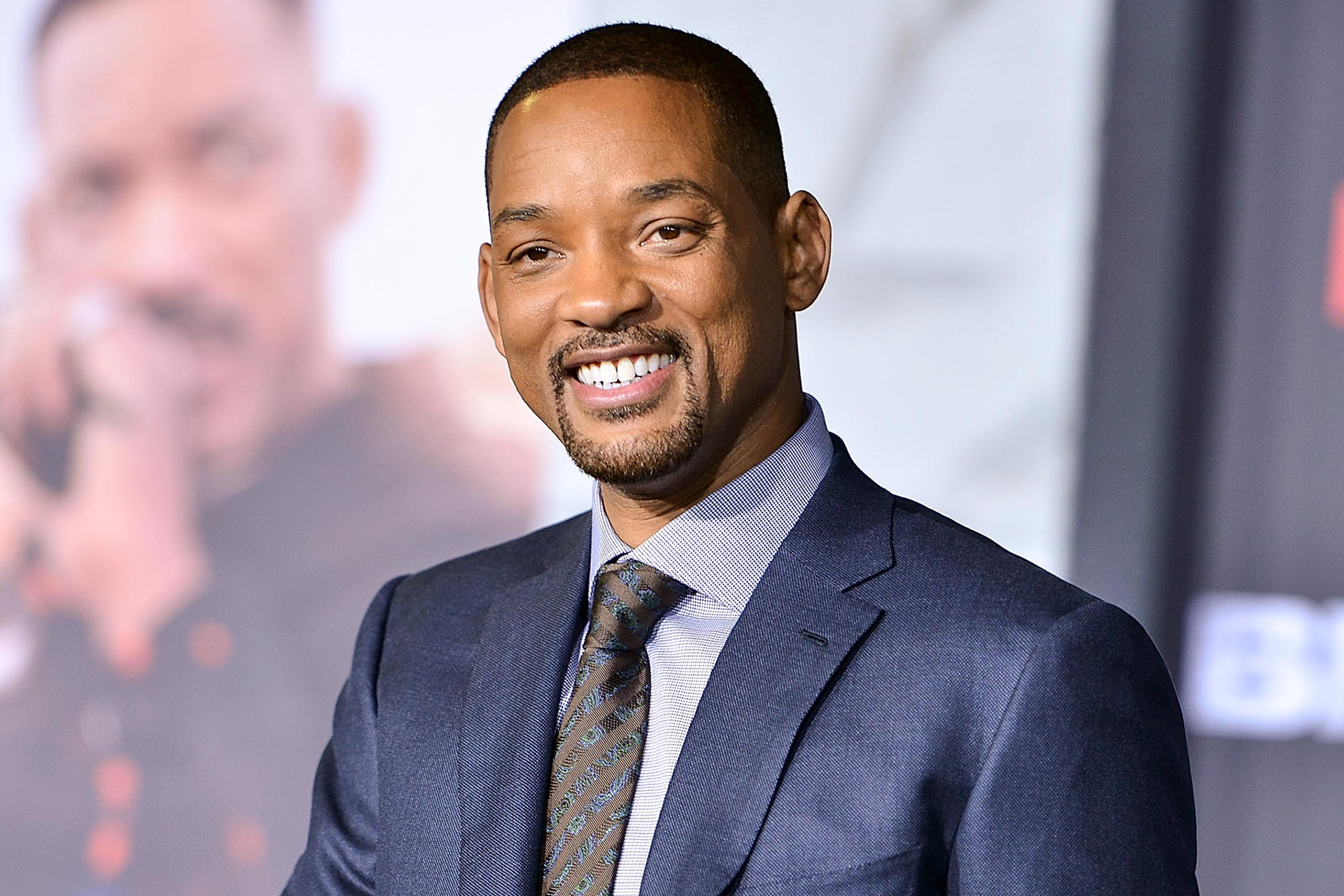 """WESTWOOD, CA - DECEMBER 13: Will Smith attends the premiere of Netflix's """"Bright"""" at Regency Village Theatre on December 13, 2017 in Westwood, California. (Photo by Araya Diaz/WireImage)"""