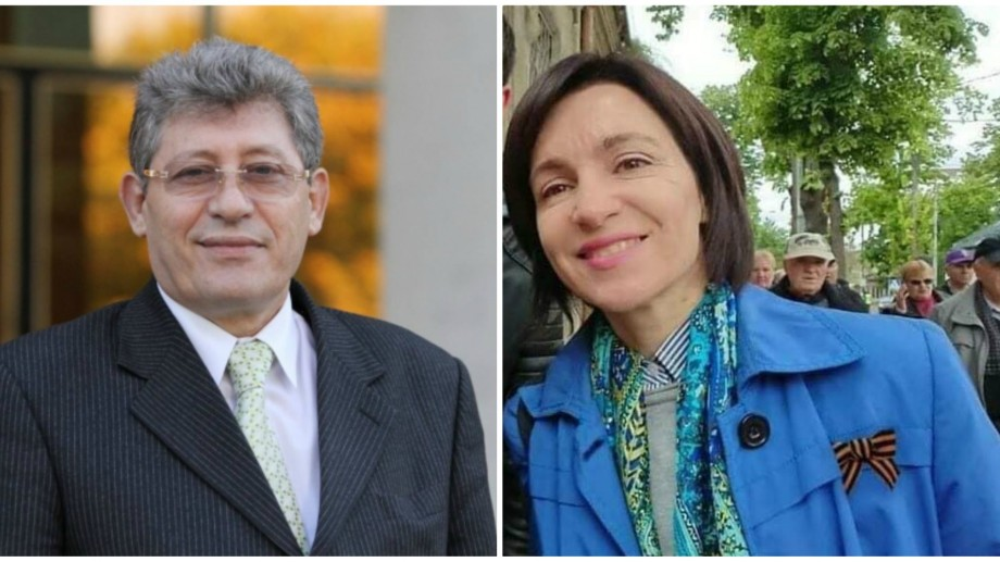 Stop Fals: Mihai Ghimpu distribuie pe Facebook fotografii false cu Maia Sandu