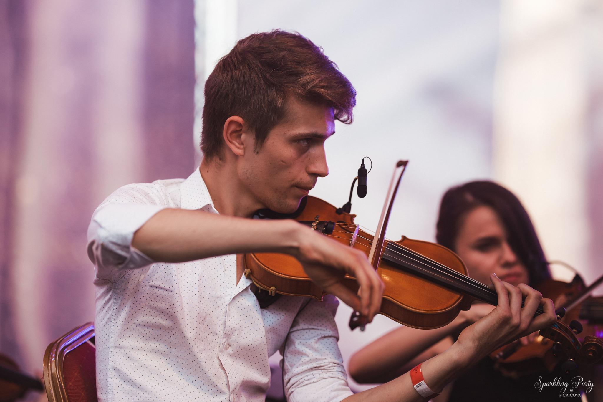ionuț si vioara