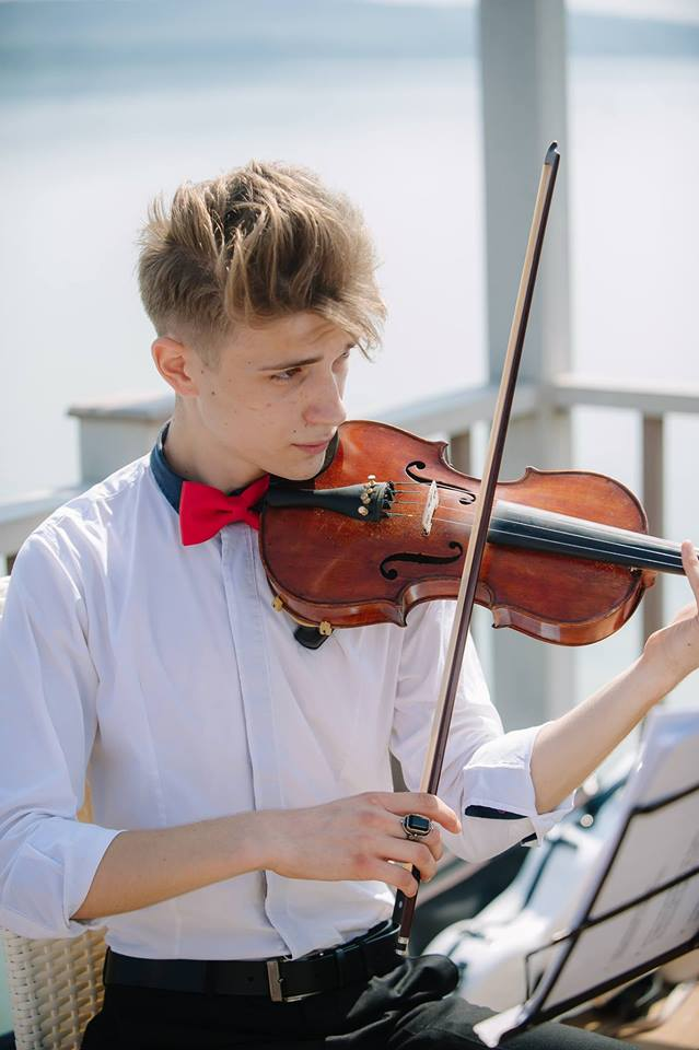 ionut si vioara