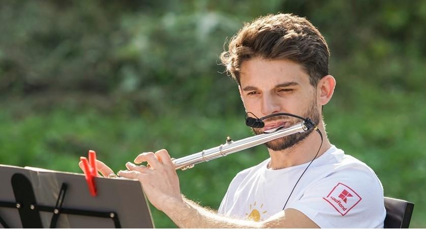 (foto) Descoperă tinerii din La La Play 2019. Flautistul Iacob Rotari, despre pasiunea sa pentru flaut, sport și meleagurile natale