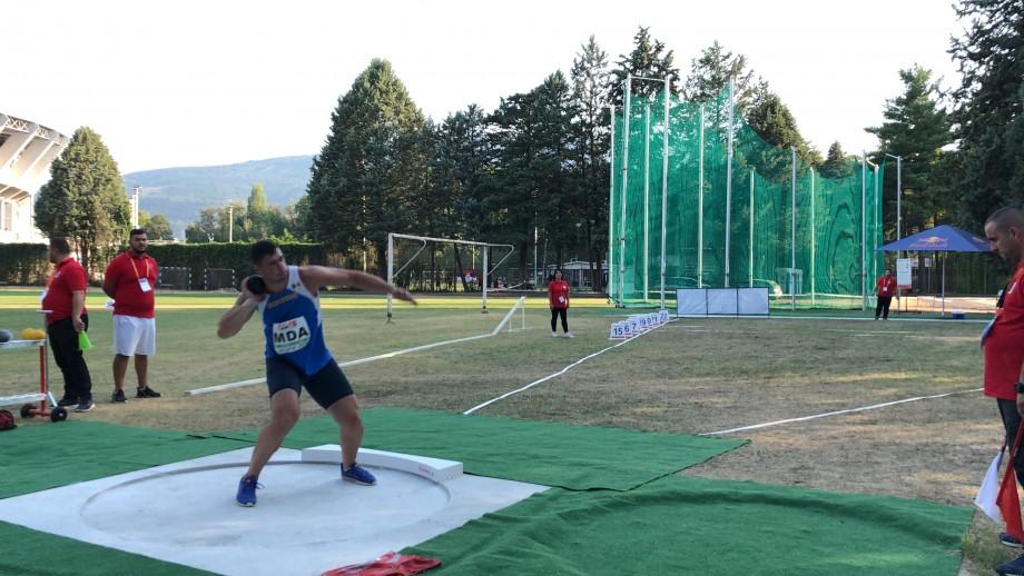 Lotul de atletism al Moldovei s-a clasat pe locul 4 la Campionatul European de la Skopje