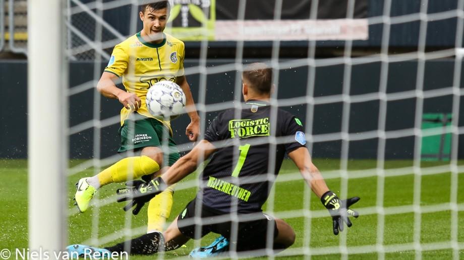 (video) Atacantul moldovean, Vitalie Damașcan, a marcat o dublă în Campionatul Olandei