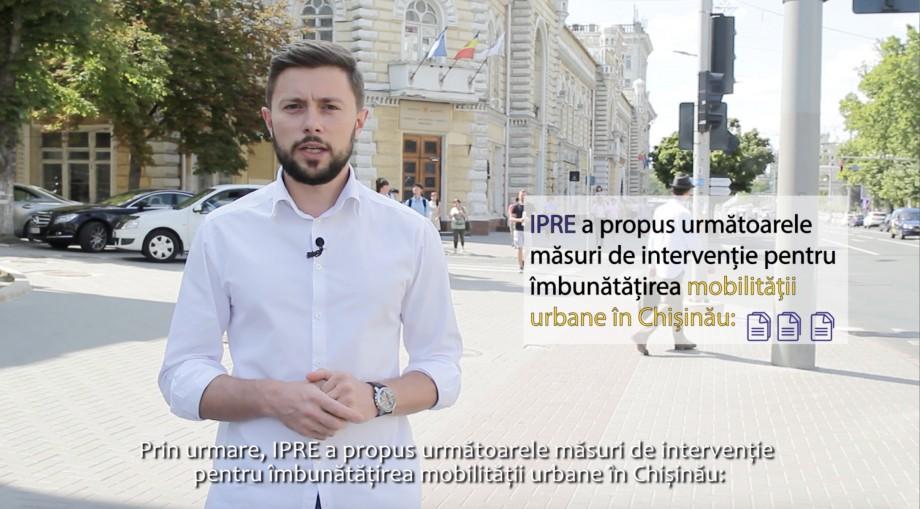 """(video) Cum putem face """"upgrade"""" a transportului public în Chișinău. Victor Chironda explică pe degete"""