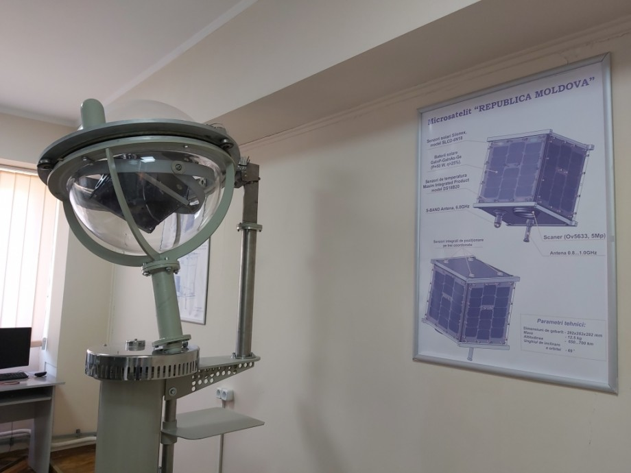 (foto) A fost dat start proiectului de lansare în spațiu al primului satelit al Republicii Moldova