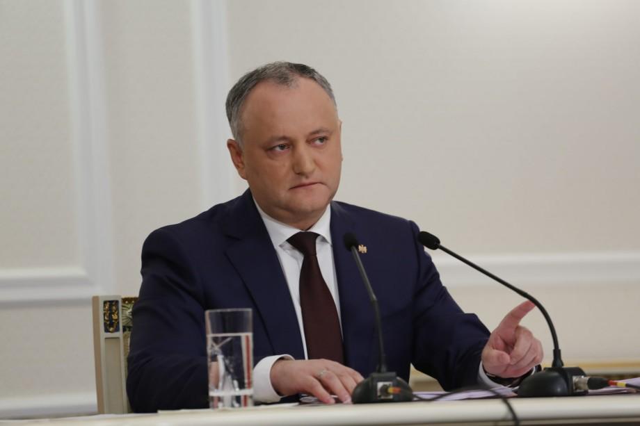 """Igor Dodon despre acordul dintre PSRM și ACUM: """"L-am putea semna chiar și săptămâna viitoare"""""""