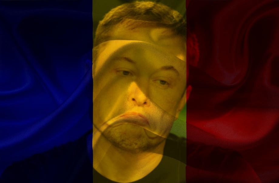 """(foto) """"De ce nu se vorbește mai mult despre asta?"""". Elon Musk este uimit de faptul că România și Ciad au steaguri asemănătoare"""