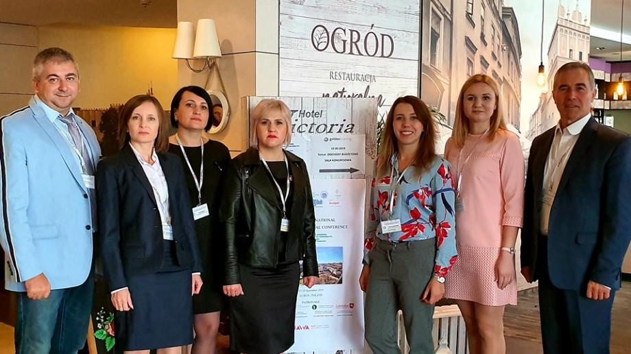 UTM a participat la o conferință internațională cu cinci prezentări științifice despre ingineria mediului