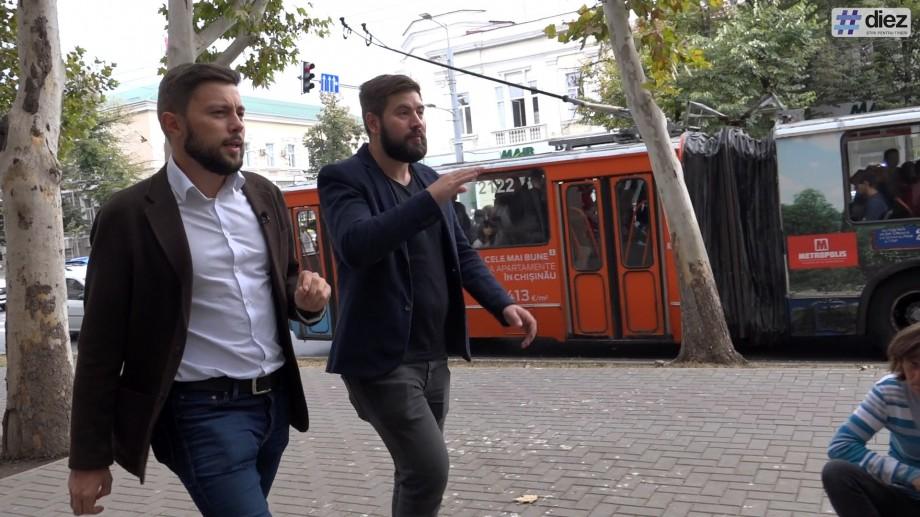 (video) #Mergem la Primărie: Pe lângă mașini parcate pe trotuar, vânzători ambulanți și tranșee în asfalt împreună cu Victor Chironda
