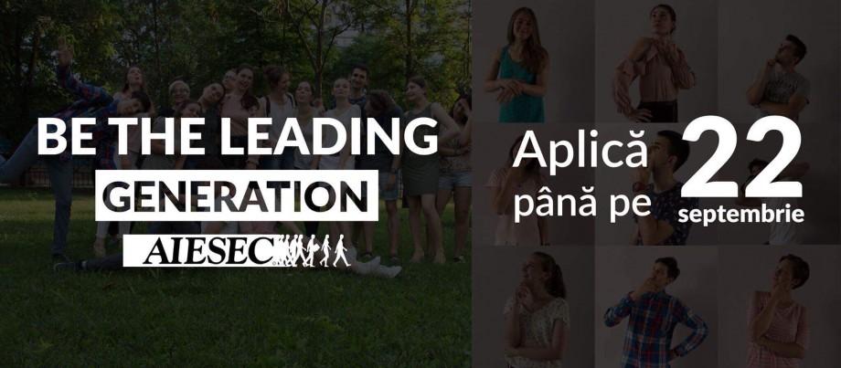 AIESEC – una dintre cele mai mari organizații studențești din țară și din lume recrutează membri noi