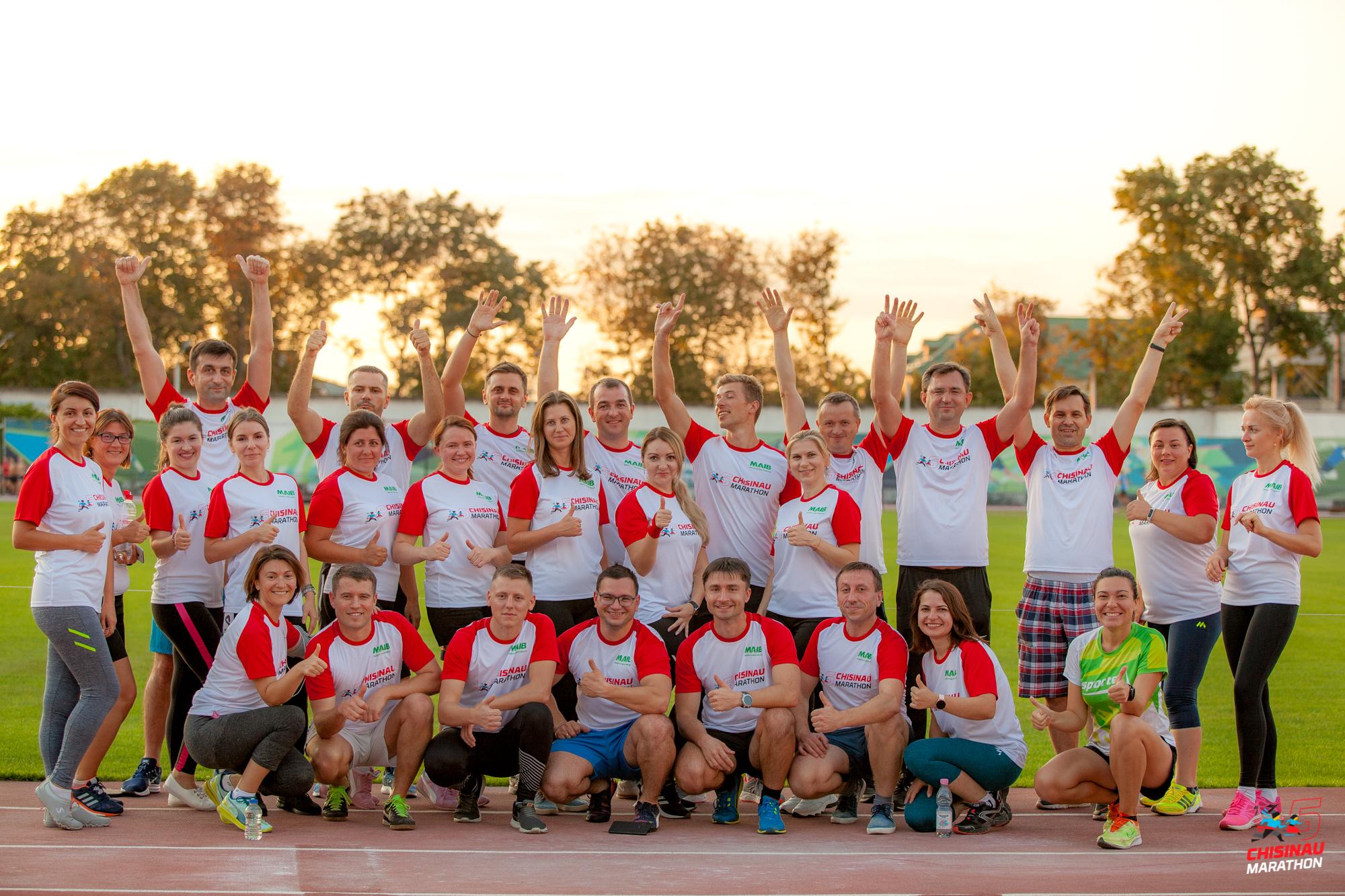 Fii şi tu MAIBun. Echipa Moldova Agroindbank este în pregătiri pentru Maratonul Internaţional Chişinău