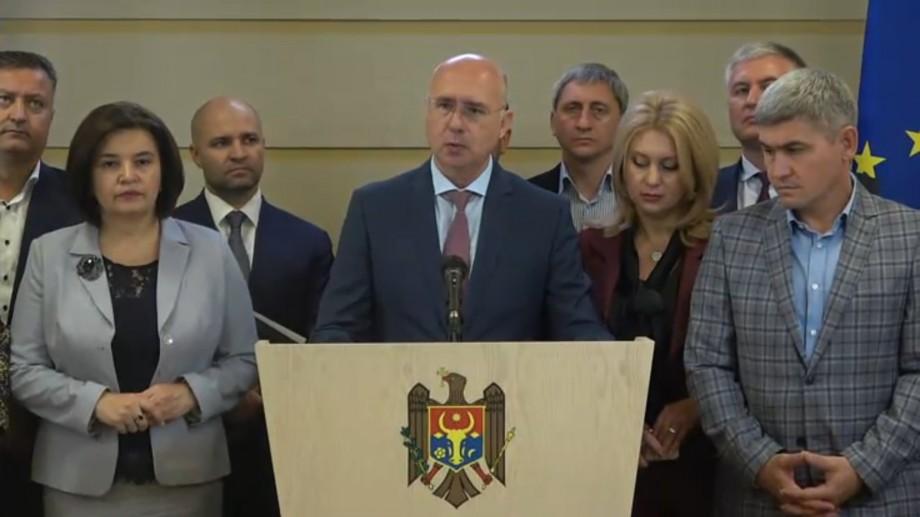 """(video) Președintele PDM, Pavel Filip, este nemulțumit de activitatea noului Guvern: """"Au oprit proiectele pentru oameni"""""""