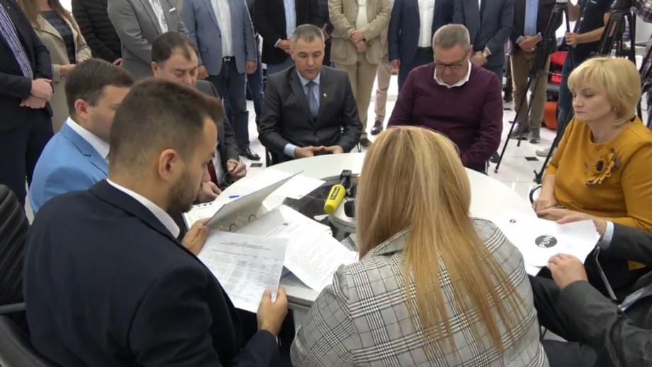 (live) Octavian Țîcu va candida pentru funcția de primar al municipiului Chișinău din partea Partidului Unității Naționale
