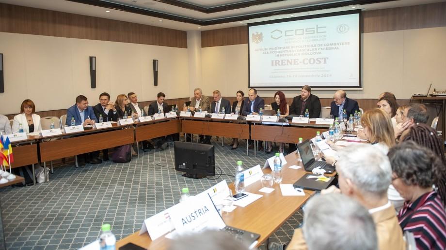 (foto) Moldova, țară-gazdă pentru Summitul Proiectului IRENE – COST. Specialiști din peste 30 de țări vor discuta despre bolile vasculare cerebrale