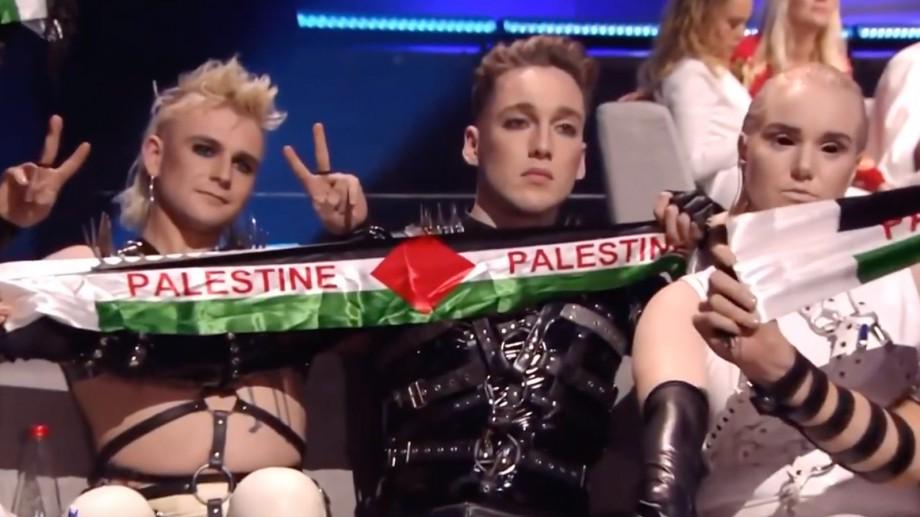 Organizatorii Eurovision au amendat Islanda pentru afișarea drapelului palestinian în timpul finalei din Israel