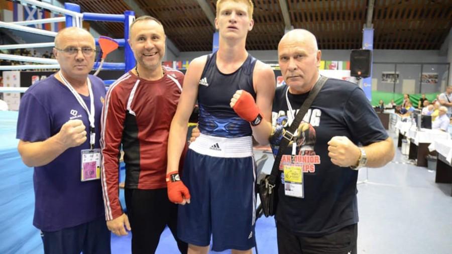 Încă o medalie pentru Moldova! Boxerul Vladislav Gudzi a devenit vicecampion european printre tineret