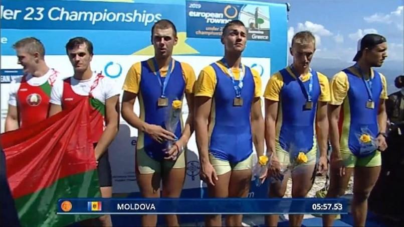 Republica Moldova a obținut bronzul pentru canotaj la Campionatul European Under 23