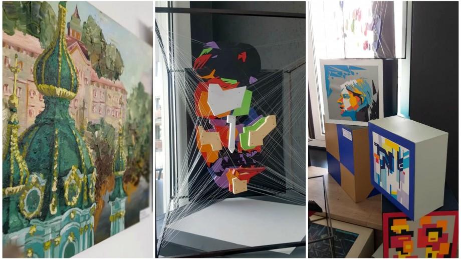 (foto) Studenții de la UTM au început noul an academic cu o expoziție de pictură, coloristică și design