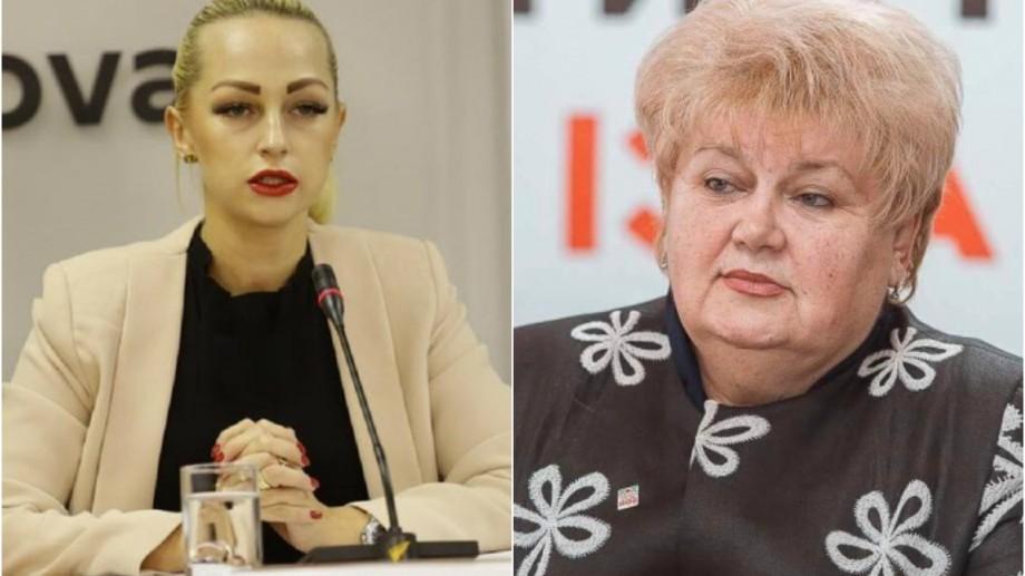 Procurorii cer mandat de arest pentru 30 de zile pentru Marina Tauber și Reghinei Apostolova