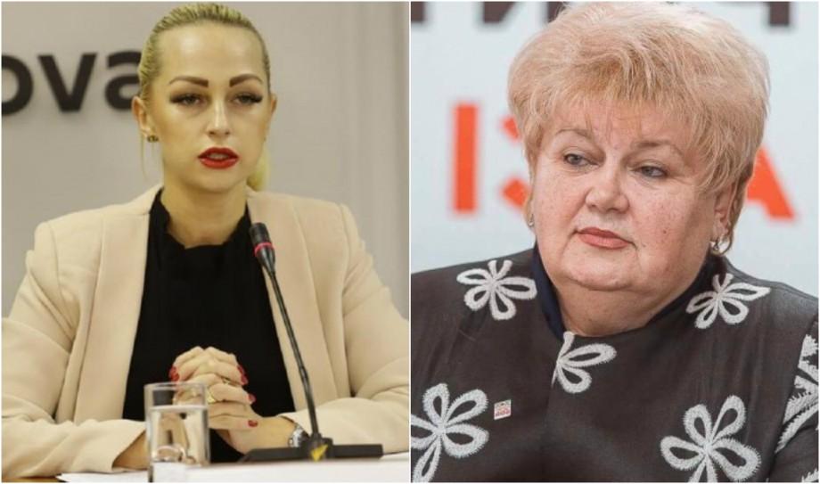 Marina Tauber și Reghina Apostolova au rămas fără imunitate parlamentară
