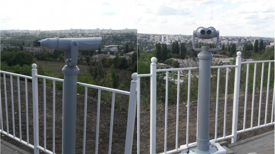 Trei binocluri au fost instalate la Chișinău. Unde puteți merge pentru a avea parte de o viziune panoramică a orașului
