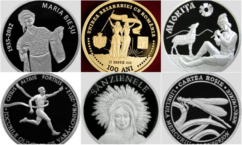 BNM a pus în vânzare noi monede comemorative. Care este prețul acestora