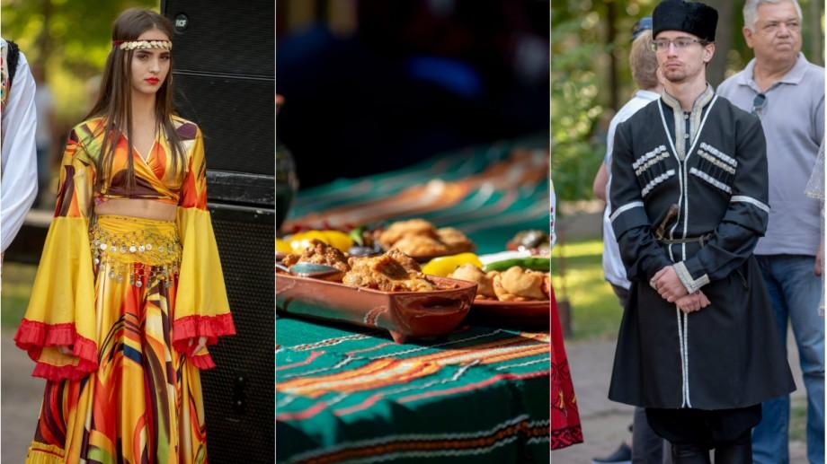 (foto) Cu bucate tradiționale și straie naționale. Cum s-a desfășurat festivalul etniilor la Chișinău